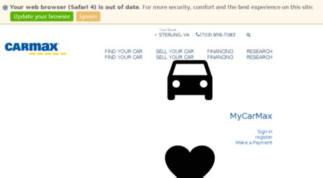 visit carmaxautofinancecom carmax auto finance carmax