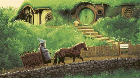 Follow Gandalf's Journey In These Stunning New Lord Of The