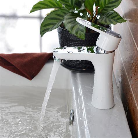 Wholesale Faucet by Wholesale Bathroom Faucet White Bathroom Faucet Mixer For