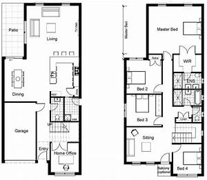 Modern Small Two Story House Plans Inspirational Best 25 ...