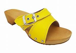 Schuhe Mit Holzsohle : schuhe von mb clogs in gelb f r damen ~ Frokenaadalensverden.com Haus und Dekorationen