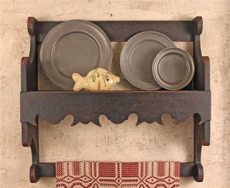 circa home living wood accessories plate racks primitive shelves