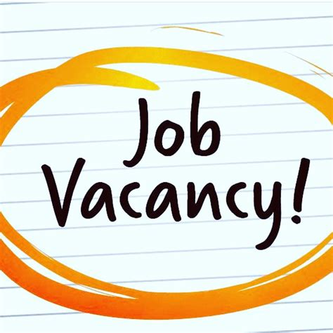 Job Vacancy - Jobs/Vacancies - Nigeria