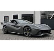 Super Cars News Ferrari F12 Berlinetta Matte Graphite