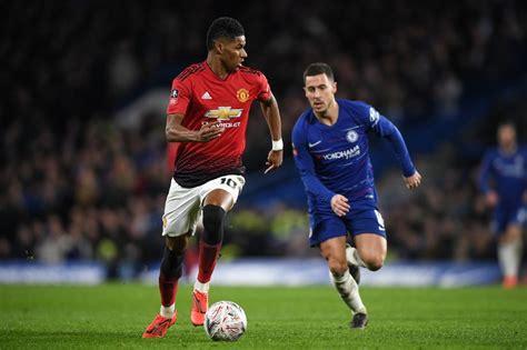 Manchester United striker Marcus Rashford makes Chelsea vs ...