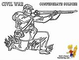 Coloring Pages Soldier Army War Civil Confederate Boys Yescoloring Printable Flag Military Horse Wars Historic Colouring Sheets Library Clipart Popular sketch template