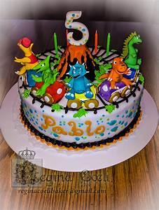 Dinosaur Cake - CakeCentral com