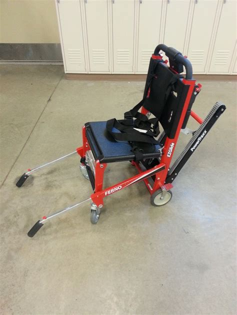Ferno Stair Chair by West Des Moines Ia Ferno Ez Glide Stair Chair With