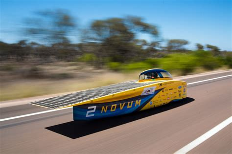 Solar Car by Record Breaking Second Place For Solar Car Team The