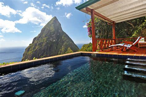 Saint Lucia And Luxury At Ladera Resort International