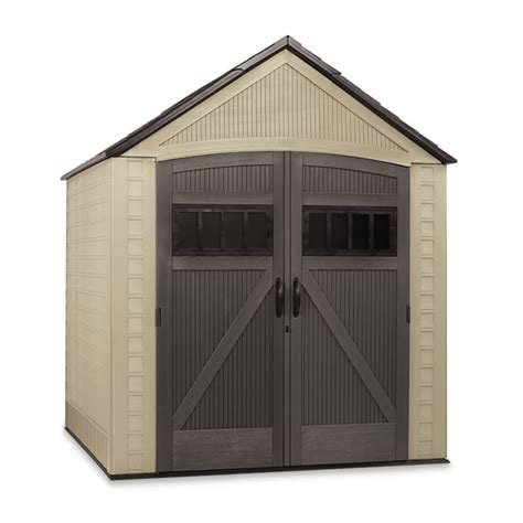 Rubbermaid Roughneck 7x7 Storage Shed by Remise De Jardin 171 Roughneck 187 7 X 7 Rona