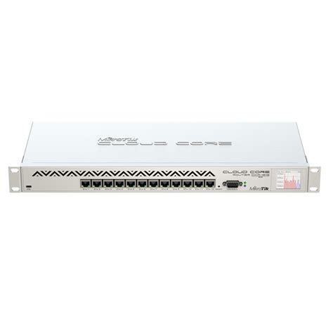 mikrotik cloud router ccr1016 12g
