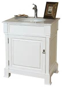 30 inch single sink vanity wood white modern bathroom