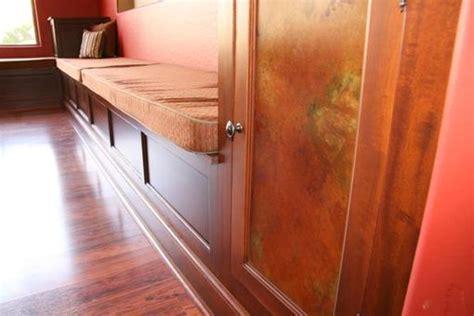 handmade built  bench seating  storage  ck valenti designs  custommadecom
