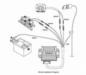 Winch Remote Control Wiring Diagram