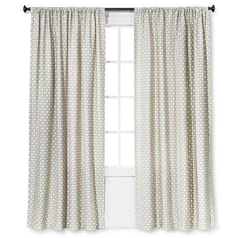 nate berkus linen curtains woven window curtain panel nate berkus target