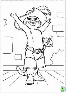 Puss In Boots Coloring Coloring Pages