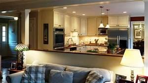 Cuisine Ouverte Sur Salon : comment meubler votre cuisine semi ouverte ~ Dallasstarsshop.com Idées de Décoration