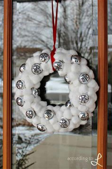 images  cotton wreath  pinterest cotton