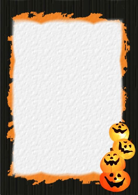 halloween stationery table  contents  index