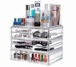 custom acrylic containers professional makeup case makeup With custom makeup containers