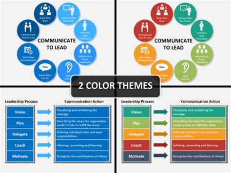 leadership communication powerpoint template sketchbubble