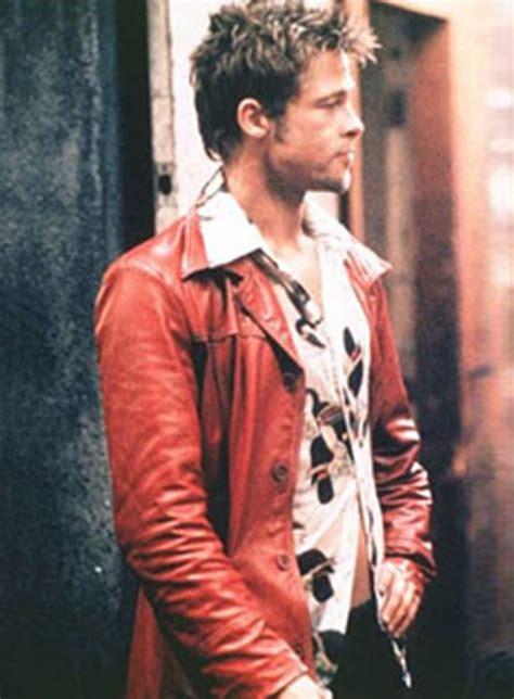 brad pitt fight club leather jacket brad pitt fight club