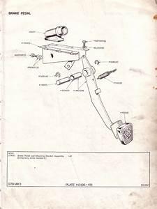 Brake Pedal   Canley Classics