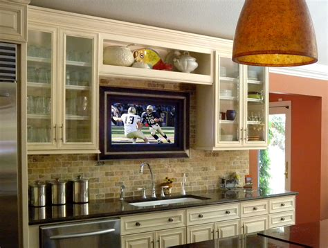 kitchen tv ideas tv solutions decorating ideas house to home