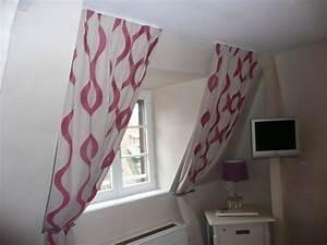 decoration rideaux pour velux With deco de terrasse exterieur 8 decoration idee rideau velux