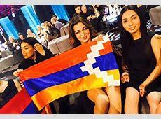 Flag Debate Eurovision reprimands Armenia over Karabakh