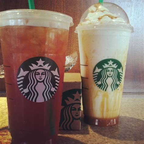 Ordered an iced americano at starbucks and as i was drinking it i thought about it. Starbucks:D Sweet black iced tea Carmel Frapp cream base | Starbucks drinks, Starbucks, Iced tea