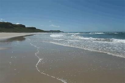 Beach Waves Rolling Islay Kilchoman Sunny Isle