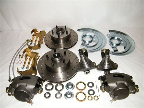 Chevy Ii Nova Front Disc Brake Conversion Kit Spindles
