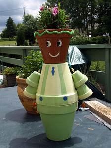 Creation Avec Des Pots De Fleurs : pot en terre le fouillis de kanou ~ Melissatoandfro.com Idées de Décoration