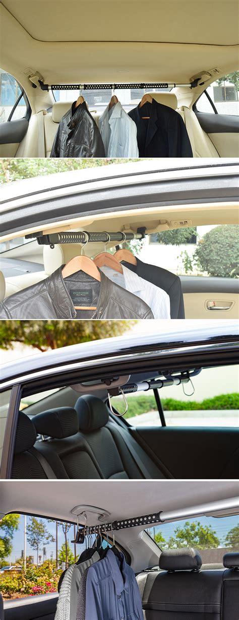 Car Clothes Carrier by Vehicle Clothes Hanger Carrier Expandable Car Clothes