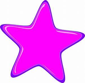 Pink Star, 3 Border Clip Art at Clker.com - vector clip ...