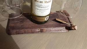 Planche à Découper Saucisson : porte bouteille vin et verres avec planche d couper saucisson palettes co ~ Teatrodelosmanantiales.com Idées de Décoration