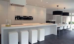 Deko Tafel Küche : afbeeldingsresultaat voor moderne keukens met eiland en tafel keukens pinterest k che ~ Sanjose-hotels-ca.com Haus und Dekorationen