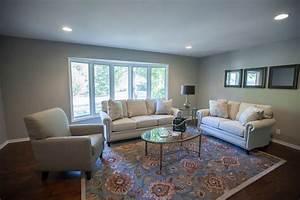 Sherwin Williams Mindful Gray Paint, Antique Brown wood