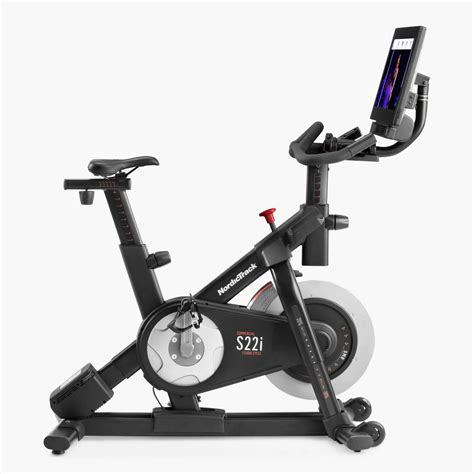 Overall the new s22i is a digitally connected exercise bike that's optimized for workout variety. NordicTrack Commercial S22i Studio Bike Buy Online at best ...