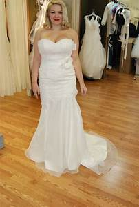 heres my dress sincerity bridal 3606 a little advice With size 16 wedding dress