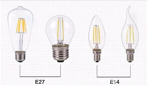 dimmer compatible new led light e27 2w 4w 6w led filaments