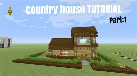 how to build a house how to build a country house in minecraft part 1