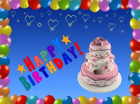 Happy Birthday Background by Wallpapers Of Happy Birthday Wallpaper Cave