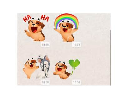 Whatsapp Animados Stickers Sticker Lanza Android