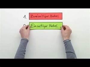 Schwerpunkt Berechnen Physik : ein und zweiseitiger hebel doovi ~ Themetempest.com Abrechnung