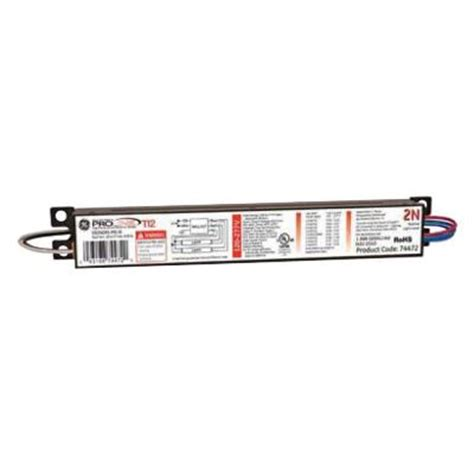 ge ge240rsmvn diyb 120 to 277 volt electronic ballast for