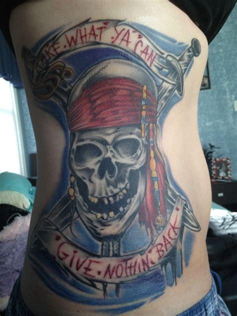 pirate skull tattoos  ideas