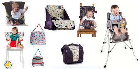 chaise haute de voyage siège bébé nomade comparatif pour bien choisir voyages